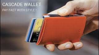 Card case, wallet CASCADE WALLET - SNAP