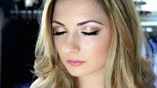 Makeup Tutorial : Soft wedding makeup using the NAKED1 palette | Ellie Cher