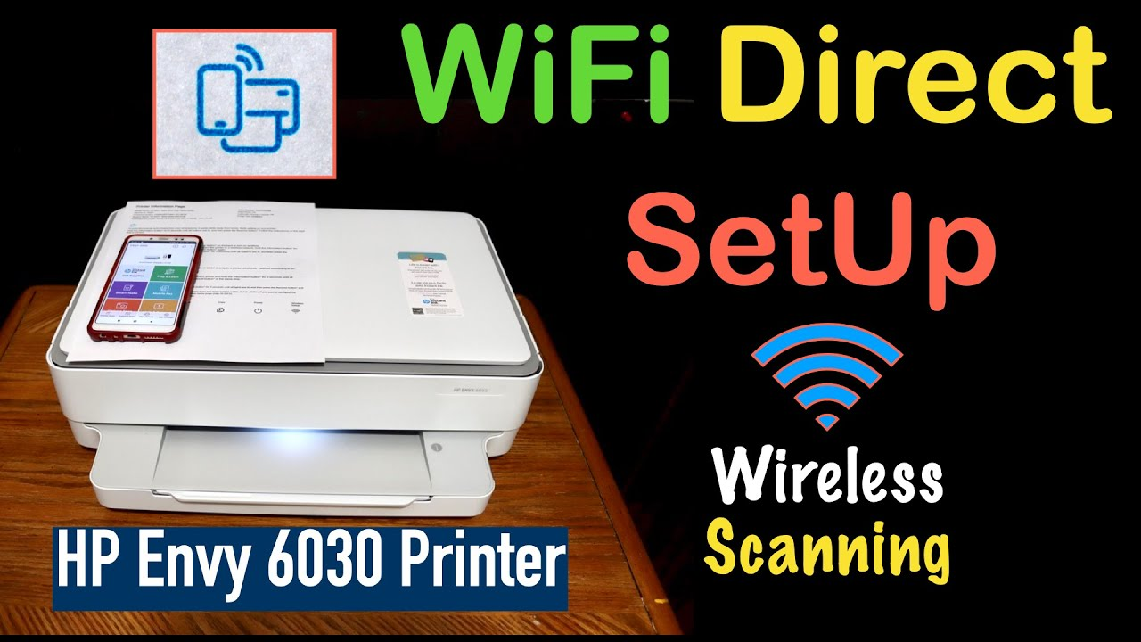 HP Envy 10 WiFi Direct Setup !!