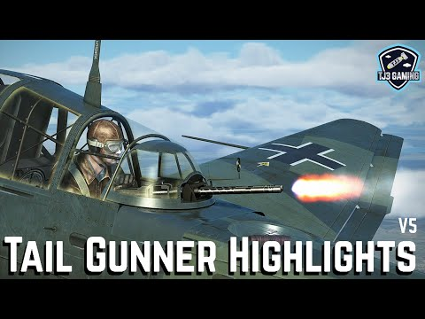 Tail Gunner Highlights! World War II Dogfighting Flight Sim IL2 Sturmovik Great Battles V5 |