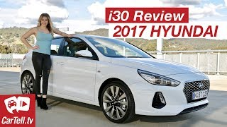 2017 Hyundai i30 Review SR Turbo CarTell.tv смотреть