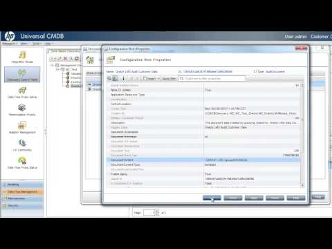 HP Universal Discovery and Asset Management for Oracle Licence Management