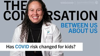 Has COVID risk changed for kids? Shaquita Bell, MD
