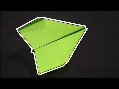Trik Membuat Pesawat dari Kertas Yang Terbang Jauh - terbang hingga puluhan meter