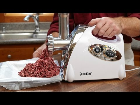 guide gear electric meat grinders - youtube