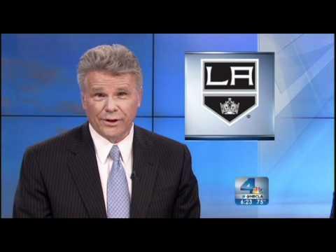 NBC 4 LA Apology for messing up the LA Kings logo