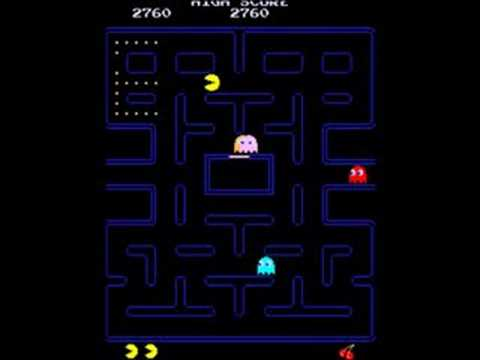 Pac-Man Arcade Gameplay