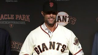 San Francisco Giants introduce new manager Gabe Kapler | RAW