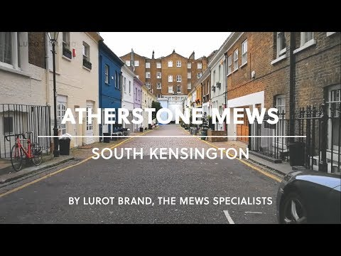 London Mews House || Atherstone Mews || South Kensington || SW7 || Lurot Brand