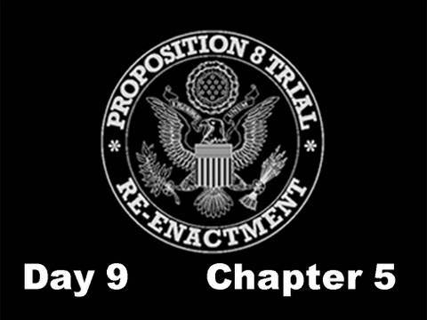 Prop 8 Trial Re-enactment, Day 9 Chapter 5