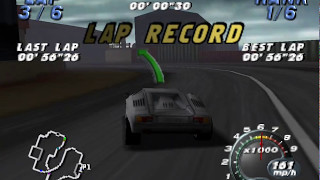 Automobili Lamborghini (N64) Novice tournament - Lamborghini Countach Speedrun
