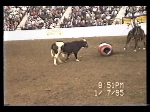 Rodeo Clown Kenny Schappacher At Harrisburg Pa Rodeo Youtube
