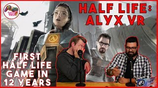 HALF LIFE: ALYX | Valve's New Half Life Game After 12 Years | Plastic Hearts Podcast