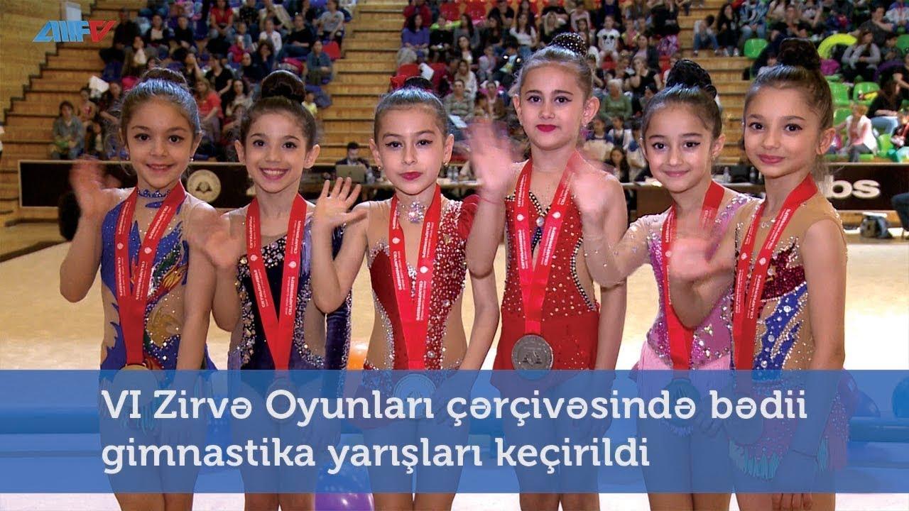 VI Zirvə Oyunları çərçivəsində bədii gimnastika yarışları keçirildi
