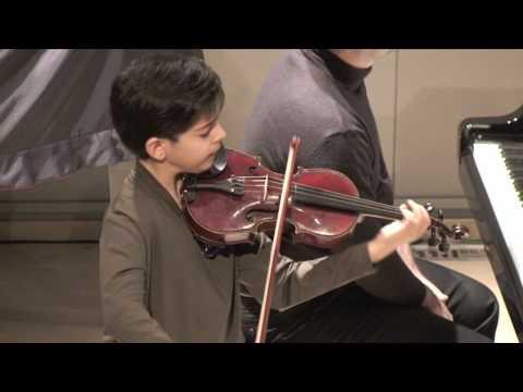 George Banos - Mozart Violin Concerto No3 in G Maj. K.216 (Allegro)