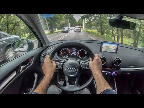 Audi A3 8V | 4K POV Test Drive #310 Joe Black