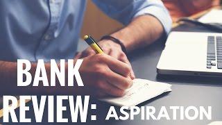 "Aspiration bank review: ""Feel good"" online bank?"