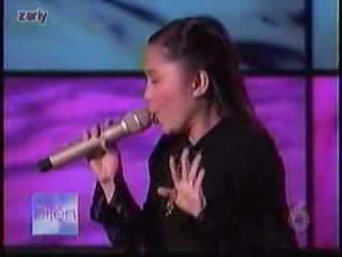 Charice @Ellen Degeneres Show singing I WILL ALWAYS LOVE YOU