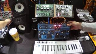 Dreadbox Abyss Polyphonic Synth - NAMM 2017 - Patchwerks Seattle