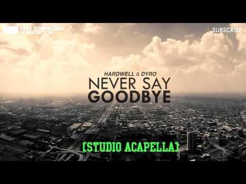 Hardwell & Dyro feat. Bright Lights - Never Say Goodbye (Acapella)