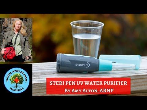 Steri Pen UV Water Purifier: Make Water Safe To Drink