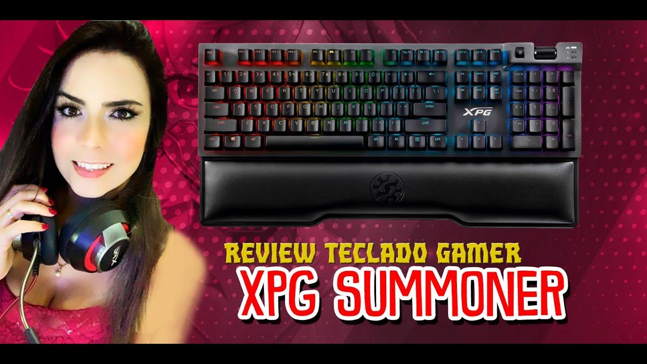 Review do Teclado Gamer XPG Summoner