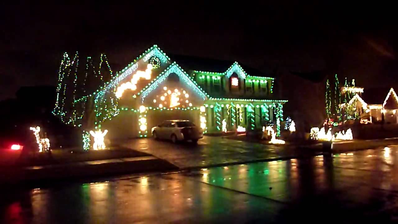 Avondale Lights - Dec 2009 - YouTube