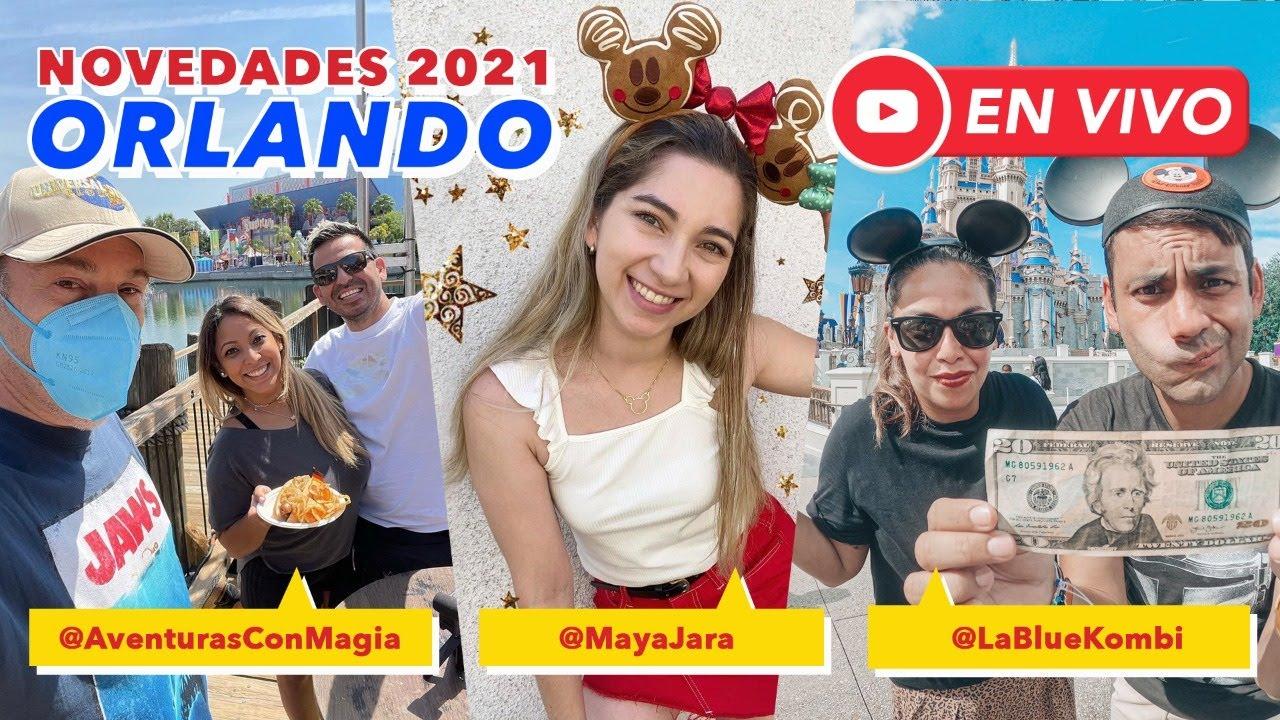NOVEDADES ORLANDO 2021 - Covid en la Florida