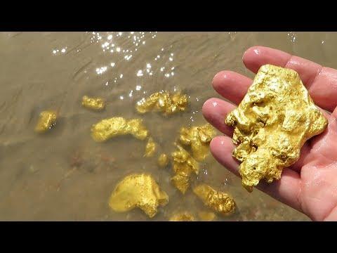 А вы думали что, много золота вокруг нас, это надо видеть и собирать.