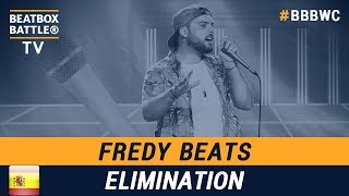 Fredy Beats from Spain - Men Elimination - 5th Beatbox Battle World Championship