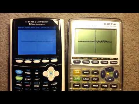 Speed Test TI 83 Plus Silver Edition vs  TI 84 Plus C Silver Edition