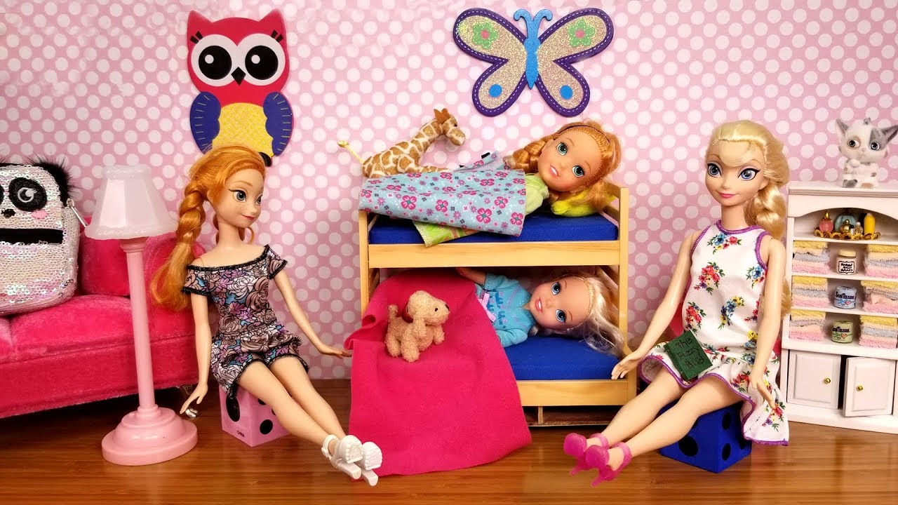 Download AFTER School routine ! Elsa and Anna toddlers - bedtime - homework - evening - dinner