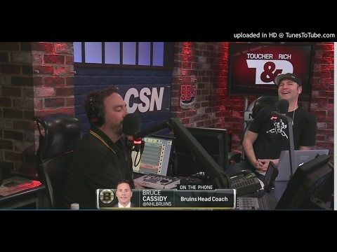 """Bruins Head Coach Bruce Cassidy """" I HATE the Canadiens"""" - WBZ-FM 4/28/17"""