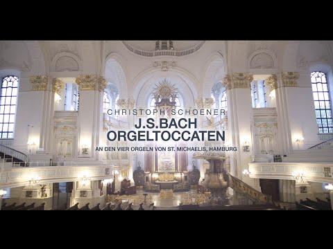 Christoph Schoener - The Organ Toccatas | Johann Sebastian Bach, St. Michaelis, Hamburg