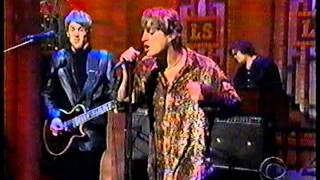 Matchbox 20 live '3AM' Late Show in-studio performance