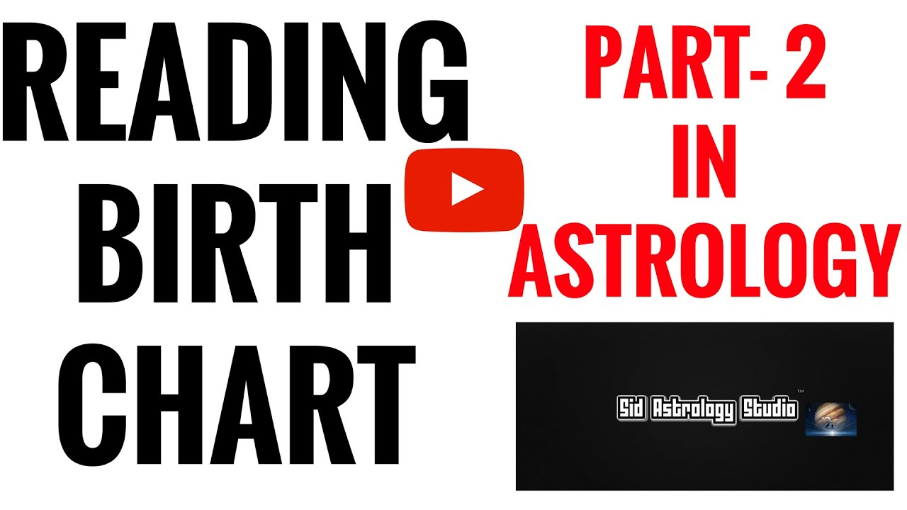 How To Read A Birth Chart In Astrology D 1 CHART ANALYSIS Part 2
