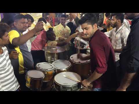 Roto King Abhishek Dahigaonkar Full Hard Solo Performance ( Dadar )gautam Nagar
