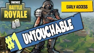 THE UNTOUCHABLE SOLO VICTORY ROYALE | FORTNITE: BATTLE ROYALE [PC]