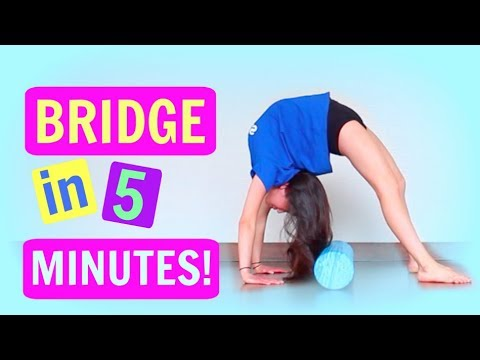 How To Do A BACKBEND BRIDGE From The Ground