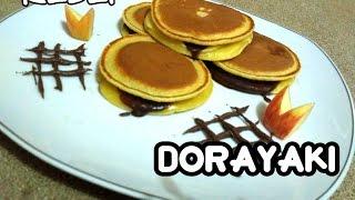 Resep Dorayaki Tanpa Cetakan [Japanese Pancake]
