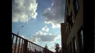 Мойка окна на высоте