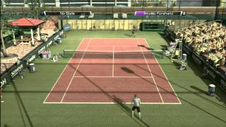 CGRundertow - VIRTUA TENNIS 4 for Xbox 360 Video Game Review