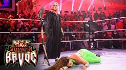 Mandy Rose gets NXT Womens Title assist from Dakota Kais attack on Gonzalez NXT Oct 26 2021