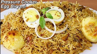 Egg Biryani In Pressure Cooker | Restaurant Style | Kanak's Kitchen