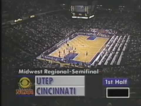 Cincinnati Bearcats Basketball 1992 NCAA Tournament Recap