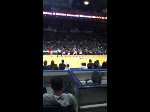 Harlem Globe Trotters at the Nassau Coliseum 2/19/12