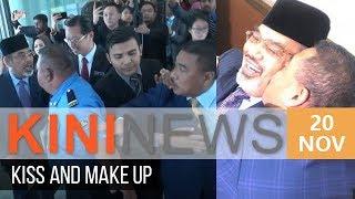 Umno MPs quarrel at Parliament lobby, then kiss and make up | Kini News - 20 Nov