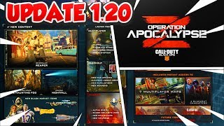NEW UPDATE 1.21 OPERATION APOCALYPSE Z / NEW PLAYLIST UPDATE TODAY / (BO4 UPDATE 1.21 LIVE)