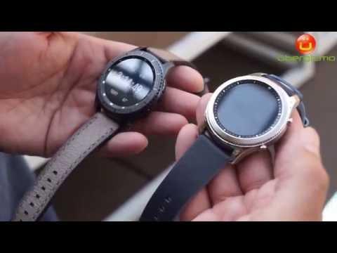 Samsung Gear S3 Classic vs. Gear S3 Frontier in 1mn