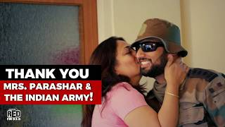 This Indian Army soldier surprised his mother